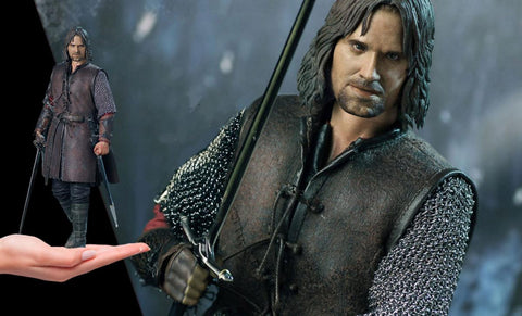 PRE-ORDER: Asmus Collectibles Aragorn at Helm's Deep Sixth Scale Figure
