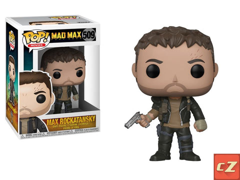 Funko Pop! Movies: Mad Max Fury Road Max #509 *New In Box* - CollectorZown