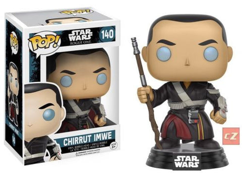 Funko Pop! Star Wars: Rogue One Chirrut Imwe #140 *New In Box* - CollectorZown