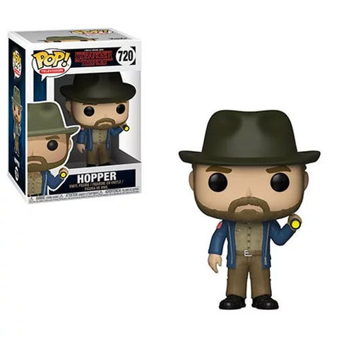 PRE-ORDER: Funko Pop! TV Stranger Things: Hopper with Flashlight #720
