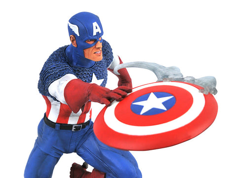 PRE-ORDER: Diamond Select Marvel Gallery Captain America Versus Statue