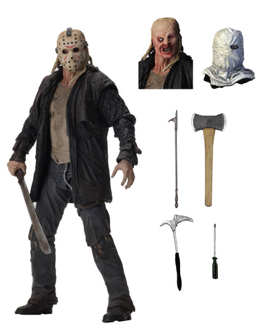 "NECA Friday The 13th 2009 Ultimate Jason 7"" Action Figure"
