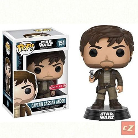 Funko Pop! Star Wars: Rogue One: Captain Cassian Andor #151 Target Exclusive *New In Box* - CollectorZown