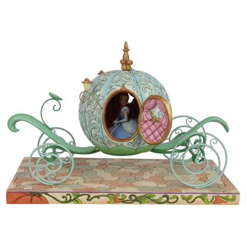 PRE-ORDER: Enesco Disney Traditions Pumpkin Coach with Cinderella