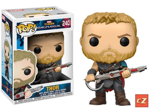 Funko Pop! Thor Ragnarok: Thor #240 *New In Box* - CollectorZown