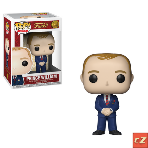 Funko Pop! Royals: Prince William #04 *New In Box* - CollectorZown