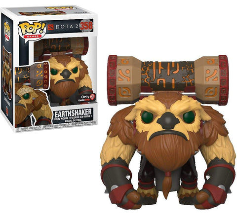Funko Pop! Games: DOTA 2 Earthshaker #358 Gamestop Exclusive