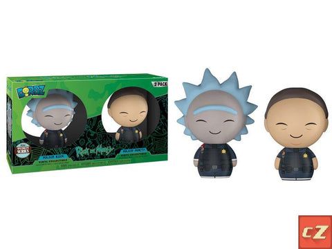 Funko Dorbz R&M: Police Rick & Morty 2-Pack Specialty Series Exclusive - collectorzown