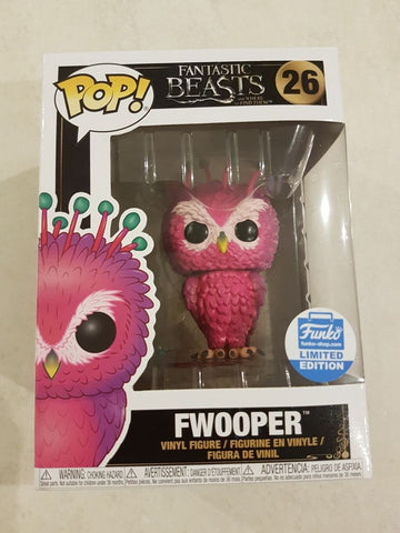 Funko Pop! Fantastic Beasts 2 Fwooper #26 Funko Shop Exclusive