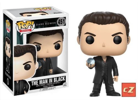 Funko Pop! Movies The Dark Tower The Man In Black #451 *New In Box - CollectorZown