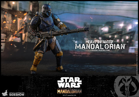 PRE-ORDER: Hot Toys Heavy Infantry Mandalorian Sixth Scale Figure