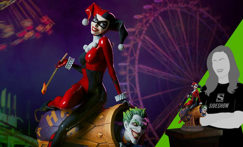 PRE-ORDER: Sideshow Collectibles Harley Quinn and The Joker Diorama
