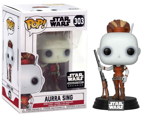 Funko Pop! Star Wars: Aurra Sing #303 Smugglers Bounty Exclusive