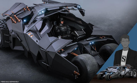 PRE-ORDER: Hot Toys The Dark Knight Trilogy Batmobile Sixth Scale Figure Accessory