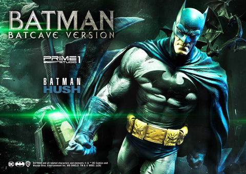 PRE-ORDER: Prime 1 Studio Premium Museum Masterline Batman: Hush (Comics) Batman Batcave Deluxe Version Statue