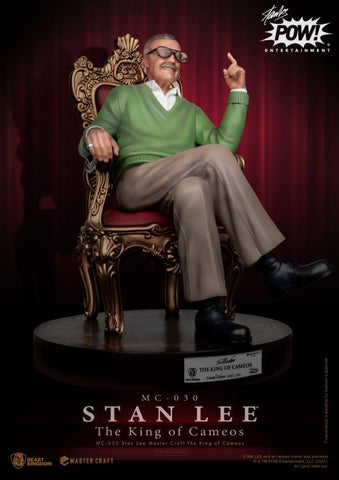PRE-ORDER: Beast Kingdom Stan Lee King of Cameos MC-030 Master Craft Limited Edition Statue