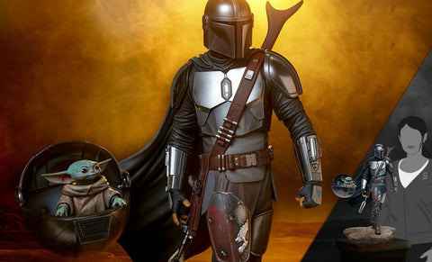 PRE-ORDER: Sideshow Collectibles The Mandalorian Premium Format Figure