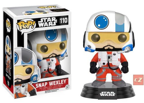 FUNKO POP! Star Wars: The force Awakens Snap Wexley #110
