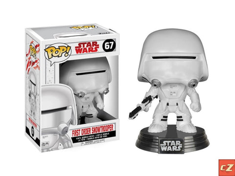 Funko Pop! Star Wars: The Last Jedi First Order Snowtrooper #67 *New In Box*