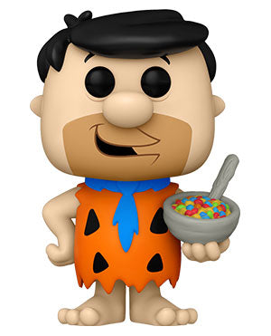 PRE-ORDER: Funko Pop! Ad Icons: Fruity Pebbles Fred with Cereal
