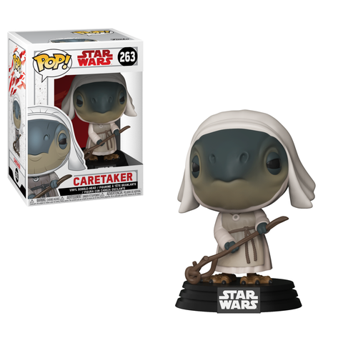 Funko Pop! Star Wars: The Last Jedi Caretaker #263  *New In Box* - CollectorZown
