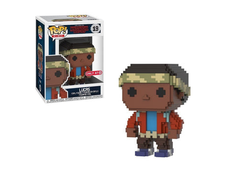 Funko Pop! 8-Bit: Stranger Things Lucas #19 Target Exclusive - collectorzown
