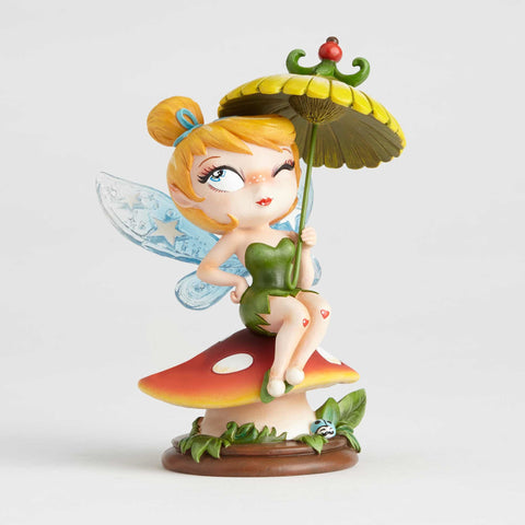 Enesco: The World of Miss Mindy Sitting Tinker Bell Vinyl