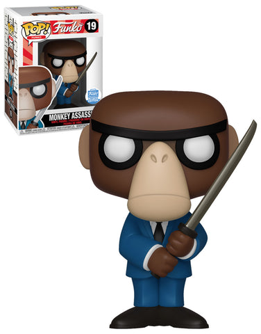 Funko Pop! Funko: Monkey Assassin #19 Funko-Shop Exclusive