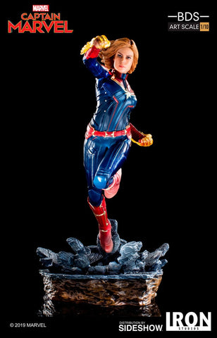 Iron Studios Captain Marvel 1/10 Scale Statue