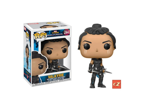 Funko Pop! Thor Ragnarok: Valkyrie #244 *New In Box* - CollectorZown