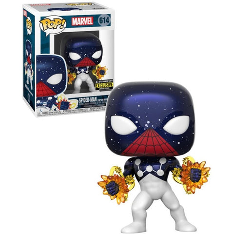 Funko Pop! Marvel Spider-Man Captain Universe #614 Entertainment Earth Exclusive