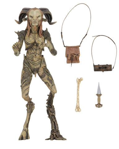 "NECA Guillermo Del Toro Signature Collection Pan's Labyrinth Faun 7"" Action Figure"