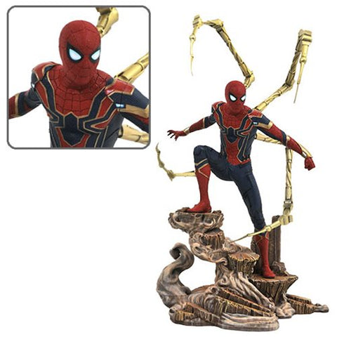 PRE-ORDER: Diamond Select Avengers: Infinity War Gallery Iron Spider-Man Statue