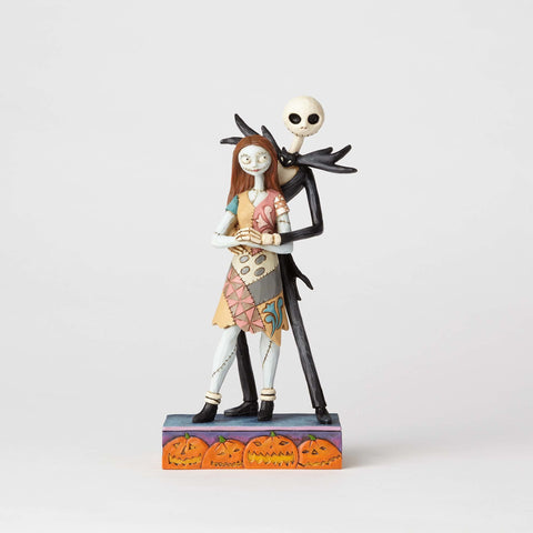 Enesco Disney Traditions Nightmare Before Christmas Jack and Sally Statue