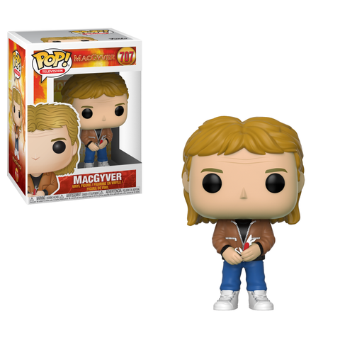 PRE-ORDER: Funko Pop! Television: MacGyver  - MacGyver #707 - CollectorZown