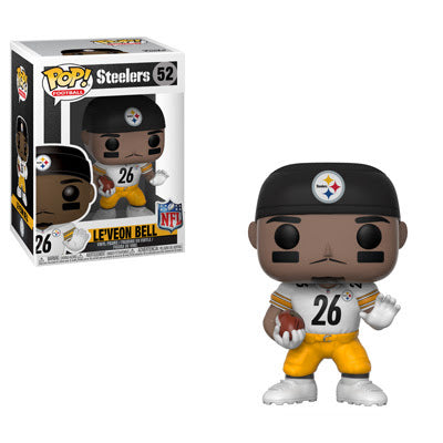 PRE-ORDER: Funko Pop! NFL: Steelers Le'Veon Bell #52 - CollectorZown