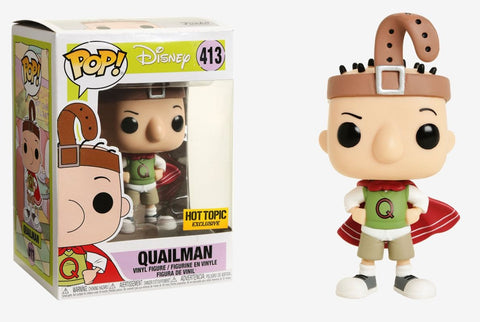 Funko Pop! Disney: Doug Quailman #413 Hot Topic Exclusive