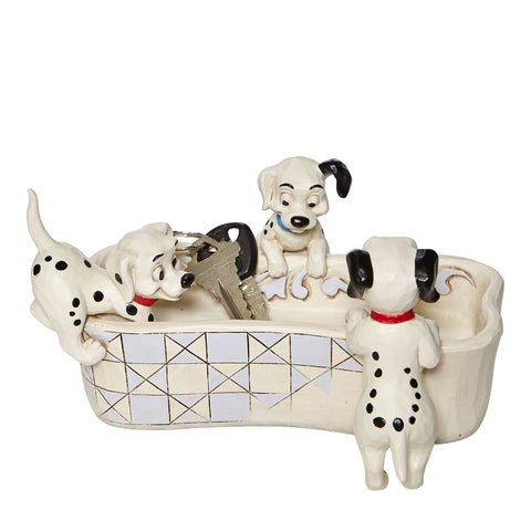 PRE-ORDER: Enesco Disney Traditions 101 Dalmations Bone Dish