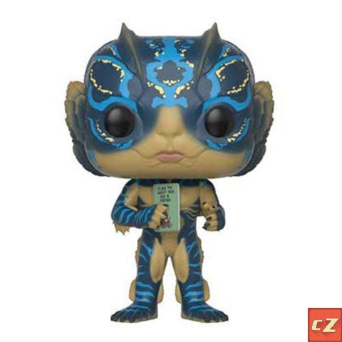 PRE-ORDER: Funko Pop! Movies: Shape Of Water Amphibian Man with Card - CollectorZown
