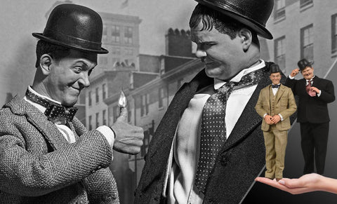 PRE-ORDER: BIG Chief Studios Stan Laurel and Oliver Hardy (Classic Suits) Box Set