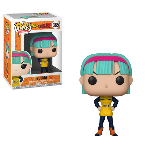 PRE-ORDER: Funko Pop! Animation: Dragonball Z Bulma #385 - CollectorZown