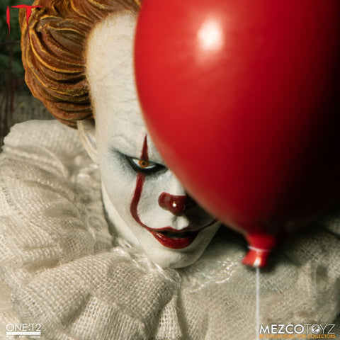 PRE-ORDER: Mezcotoyz It: Pennywise One:12 Action Figure