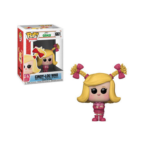 Funko Pop! Movies: The Grinch - Cindy-Lou Who #661
