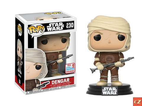 Funko Pop! Star Wars Dengar #230 Fall Convention Exclusive - collectorzown