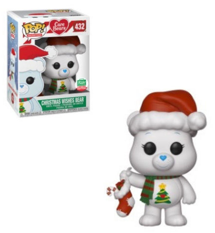 Funko Pop! Animation: Care Bears Christmas Wishes Bear #432 Funko Shop Exclusive