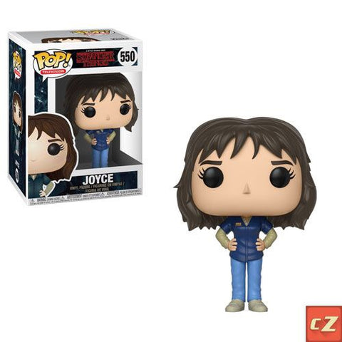 Funko Pop! Television: Stranger Things Joyce #550 *New In Box* - collectorzown