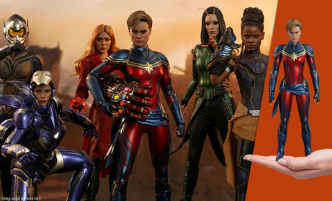 PRE-ORDER: Hot Toys Captain Marvel Sixth Scale Figure