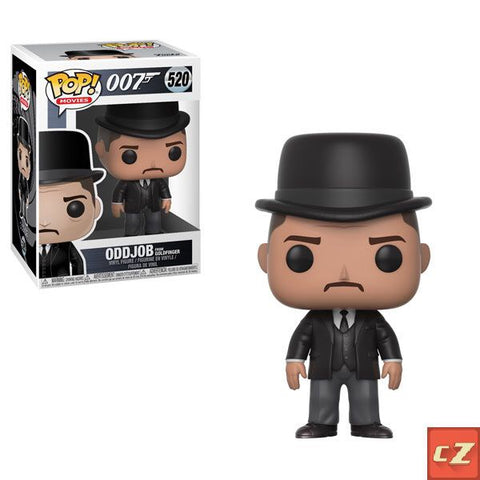 Funko Pop! Movies: 007 Oddjob - GoldFinger #520 *New In Box* - CollectorZown