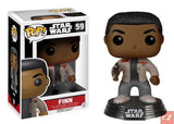 Funko Pop! Star Wars: The Force Awakens Finn #59 *New In Box*