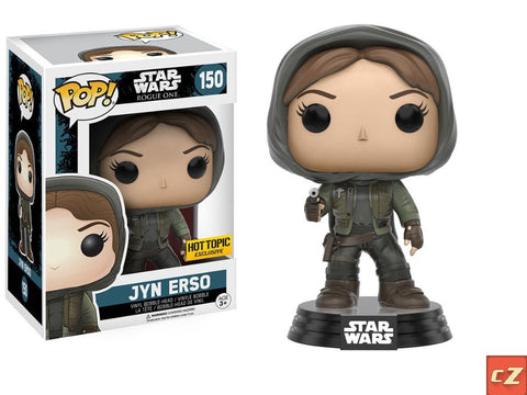 Funko Pop! Star Wars: Rogue One Jyn Erso #150 Hot Topic Exclusive - CollectorZown
